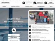 AEROCABSERVICES des Taxis vans de 4 à 8 passagers pour les aéroports parisiens