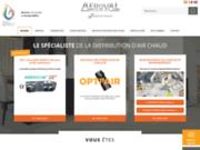 Distribution d'air chaud Aeroval Concept