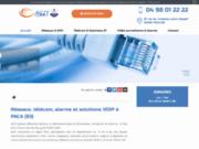 AG2T : votre spécialiste en téléphonie IP, réseaux informatiques et vidéo surveillance