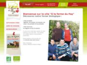 Ferme biologique du Pay en Vendée : vente de légumes, viandes, œufs