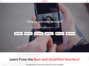 Albert Learning : cours d'anglais sur Skype