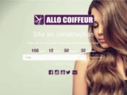 Allo Coiffeur - Site de réservation en ligne dans un salon de coiffure ou coiffeur à domicile