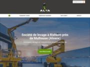 ALTA : Entreprise de levage, transport et démontage industriel à Rixheim