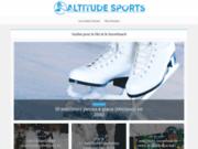 Vente de matériels et vêtements de sports de montagne