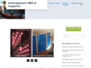 Aménagement pour GMS et magasins ou boutiques