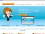 Votre annonce légale en quelques clics, partout en France