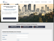 Demande d'autorisation ESTA en ligne