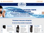 Achetez facilement votre fontaine à eau réseau