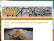 Argilus, enduits écologiques 100% naturel, composé d'argile et de lin