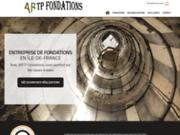 ARTP Fondations, entreprise experte en fondation de bâtiments