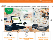ASMPOS - Fournisseur caisse tactile Tunisie