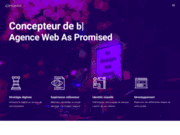Agence Web As Promised Concepteur de sites web
