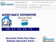 Serrurier Paris Pas Cher