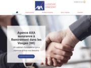 Cabinet d'assurances AXA Ludovic Vincent à Remiremont