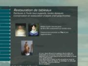 Restauration de tableaux anciens