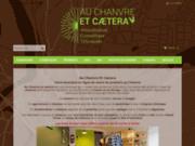 Boutique de vente de produits au chanvre, cosmétiques, vêtements et produits alimentaires