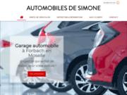 AUTOMOBILES DE SIMONE à Forbach pour l'achat de véhicules neufs