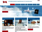 Autorisation de voyage électronique pour le canada AVE