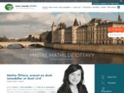 Maître OTTAVY, avocate à Paris 8