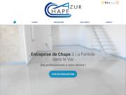 Azur Chape, entreprise de chape dans le Var