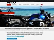 Nice location de moto sur la côte d'Azur