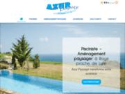 Azur Paysage, entreprise experte en pose de piscines à Roye