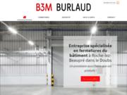 B3M BURLAUD pour l'installation de systèmes de sécurité à Roche-lez-Beaupré