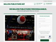 Ballon publicitaire géant à l'hélium