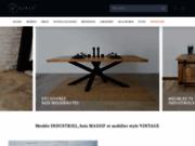 Site spécialisé dans le meuble industriel