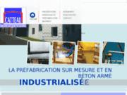 CATTEAU SA : construction industrielle en béton
