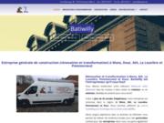 BatiWilly contruction et rénovation à Mons dour Ath La Louviere Pommeroeul