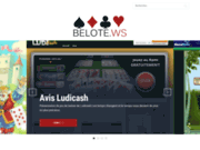 Comparateur de sites de belote en ligne