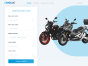 Bikeloc  : location de scooters et motos