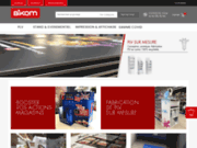 Bikom shop, fabricant de PLV en carton sur mesure. Spécialiste du carton recyclé et de la GMS
