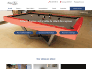 Billard table design fabrication francaise