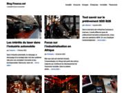 Votre blog orienté vers la finance