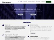 Cabinet indépendant d'avocat d'affaires Billand & Messié à Paris