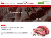 Boucher charcutier à Cagnes-sur-Mer, Saint-Laurent-sur-Mer