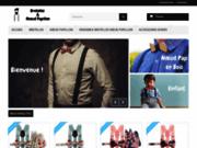 Boutique en ligne de bretelles et nœuds papillon