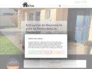 Entreprise Breton SARL : Entreprise de maçonnerie générale près de Reims