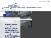 Entreprise de métallerie-serrurerie industrielle à Pontchâteau