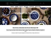 Bruno Evrard: Boutique en ligne de vaisselle, verres, assiettes, couverts, carafes, déco