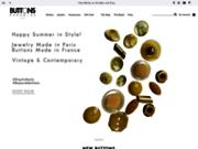 Boutons de couture et bijoux originaux - ButtonsParadise