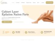 Epilation définitive au laser à Paris avec le cabinet Laser Nation