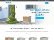 Cache climatisation et pompe à chaleur Air3D
