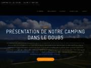 Camping Doubs en bord de lac