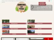 Camping Le Texas sis dans les Pyrénées
