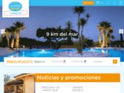 Camping 3 étoiles L'Orangeraie en Espagne