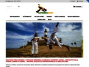 CapoeiraShop. Pantalon de Capoeira, Instrument, accessoire de berimbau, livre, cd, dvd