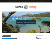 Blog Carnets Voyages